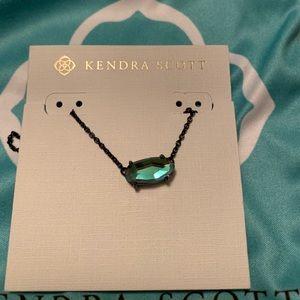 Kendra Scott Indigo Dichroic Ever Necklace